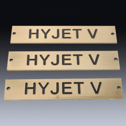 Brass Plaques Product
