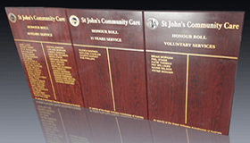 Perpetual Plaques and Honour Boards