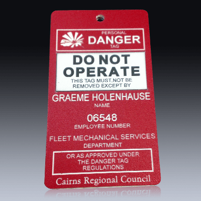 Engraved Labels Product