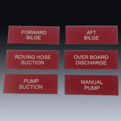 Engraved Labels Product 23